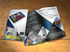 SME Brochure SME wanted a bi-lingual flyer to promote the services that they provide. Business, Books, Libros, Book, Store, Business Illustration, Book Illustrations, Libri