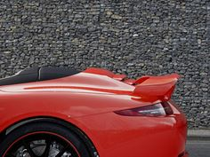 TechArt Reveals their Rear Spoiler Options for the 2012 Porsche 911
