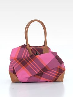 Check it out, such a cute bag! Love the plaid! —Vivienne Westwood Shoulder Bag at thredUP! #preowned #Luxeforless