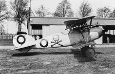 Albatros D.Va single-seat fighter biplane.