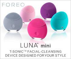 Shop now at FOREO.com for LUNA mini.