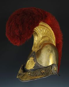 French; Carabiniers, Officer's Helmet, 1825 model