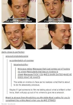 The real reason Moriarty was written back into Sherlock. Sherlock Bbc, Sherlock Fandom, Funny Sherlock, Benedict Cumberbatch Sherlock, Jim Moriarty, Watson Sherlock, Sherlock Quotes, Johnlock, Andrew Scott
