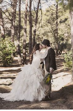 mediterranean forest wedding shoot by The Visual Partners, dress: Ramon Herrerias