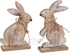 Hasen / Osterhasen Paar aus Holz Osterdeko / Ostern / Frühling 2 Stk. je 16 cm in Möbel & Wohnen, Feste & Besondere Anlässe, Jahreszeitliche Dekoration | eBay!