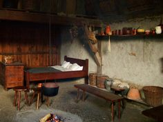 Peasant Home Interior || Medieval Cottage