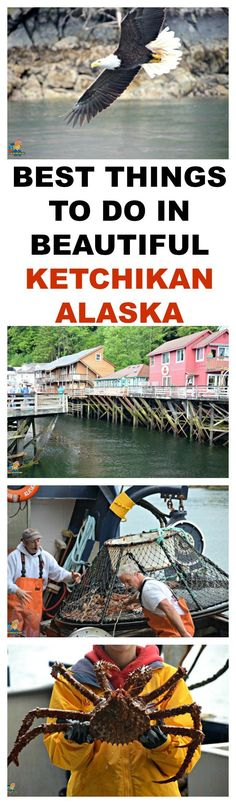 BEST THINGS TO DO IN BEAUTIFUL KETCHIKAN ALASKA - Perfect vacation for everyone.