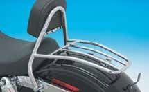Luggage Rack with Driver Sissy Bar - Le Rock - Parts & Accessories for Harley-Davidsons