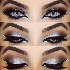 Resultado de imagem para maquiagem arabe