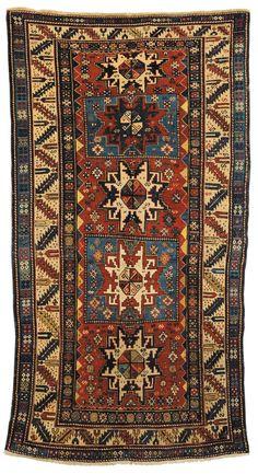 Tappeto caucasico Shirvan Lesghi, fine XIX secolo from Cambi Casa d'Este