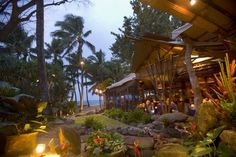 Mama's Fish House in Paia - amazing patio and views