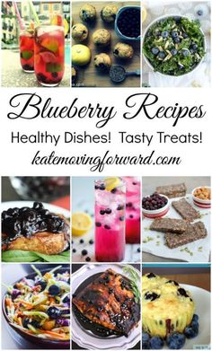 Blueberry Recipes - Blueberry Desserts - Blueberry Drinks - Blueberry Snacks - Blueberry Salad - Blueberry Recipes Easy