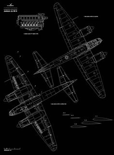 Asisbiz article Artwork by Kagero blue print 1.72 scale Junkers Ju 88 A 0 to A 17 top and bottoms views 0A