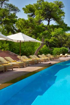 An outdoor infinity-edge pool overlooks the ocean and the beach. Arion, a Luxury Collection Resort & Spa,Astir Palace, Athens (Vari-Voula-Vouliagmeni, Greece) - Jetsetter