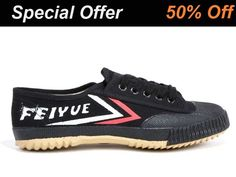 d38469db13 Feiyue Martial Arts Shoes Black   ICNbuys.com