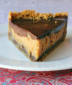 Chocolate & Peanut Butter Cheese Cake - ahhhhhhhhh