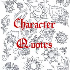 Character Quotes from Driving Blind by Dellani