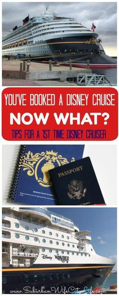 What to do after you book a Disney Cruise. Tips for a 1st time Disney Cruiser