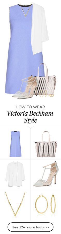 """Victoria Beckham Dress"" by xandriah on Polyvore"