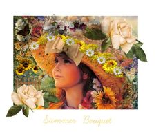 """Summer Bouquet.. Please see description ❤️❤️❤️❤️❤️"" by jbeb ❤ liked on Polyvore featuring art"