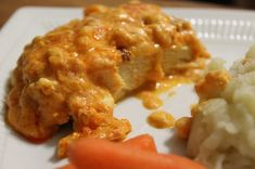 Buffalo Cream Cheese Chicken Spicy Hot and Quick to Cook  MyRecipeReviews.com