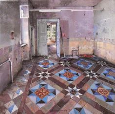 These beautiful beautiful interior paintings by Matteo Massagrande Arts And Crafts For Teens, Crafts For Seniors, Organisation Hacks, Inside Art, Bone Crafts, Art Ancien, Affordable Art Fair, Art For Sale Online, Art Rooms
