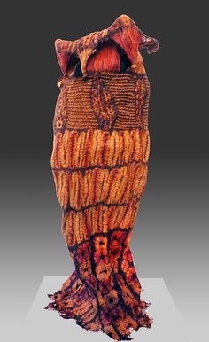 Africa | Dida Skirt Tye dyed and woven in raffia. | Dida People of The Ivory Coast | Woven in continuous circle with no seam.