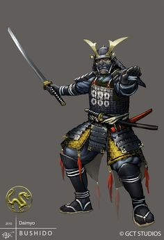 Ashigaru - Captain by dinmoney on DeviantArt Character Concept, Character Art, Kabuto Samurai, Samurai Warrior Tattoo, Samurai Anime, Samurai Artwork, Ninja Art, Japanese Warrior, Armor Concept