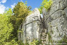 Fairy Steps Beetham, Cumbria