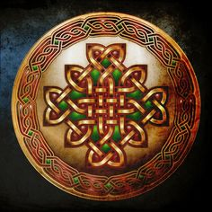 Celtic shield