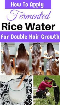 How To Use Rice Water For Hair Growth (DIY + Benefits) | Trabeauli