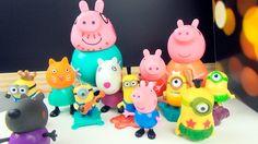 Свинка Пеппа вместе с ее друзьями в кинотеатре