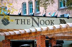 The Nook, Midtown, ATL. Famous for their totchos!
