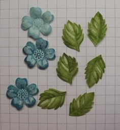 Stamp Girl: Dry Embossed Blossoms