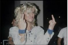 Duf McKagan FUCK YOU!