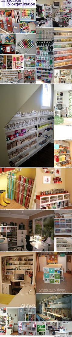 Craft/Scrapbook Rooms