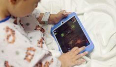 El iPad actúa como sedante en niños antes de una cirugía