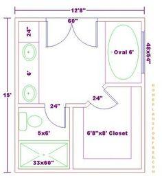 Walk In Shower Dimensions Master Baths X Back Ideas Design - Master bathroom shower dimensions