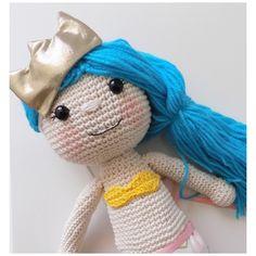 Muñeca sirena. Mermaid. Doll de MrCatcreaciones en Etsy