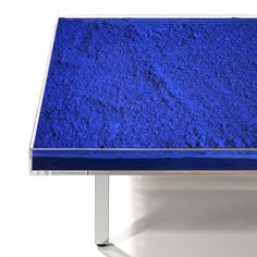 Artware Editions is the worldwide partner of the Yves Klein Archives and sells Yves Klein's three seminal tables: Table Bleue, Table Or, and Table Rose.