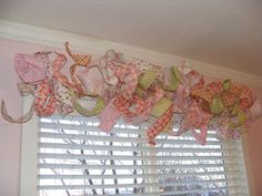 This isn't ribbon. It's made with fabric and wire and a board with holes...... I love it!
