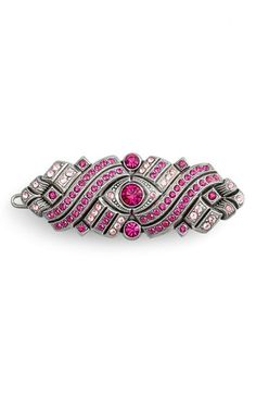 L. Erickson 'Bavaria' Swarovski Crystal Tige Boule Barrette available at #Nordstrom; $148 as of as of 7/28/14 (a girl can dream, right?)