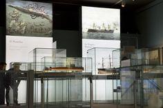 EXIT DESIGN - The Naval museum exhibition. Madrid 2015