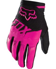 DIRTPAW RACE GLOVES in pink match the helmet I want