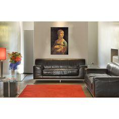 DA VINCI - DAMA CON ERMELLINO #artprints #interior #design #art #print #iloveart #followart #artist #fineart #artwit  Scopri Descrizione e Prezzo http://www.artopweb.com/autori/leonardo-da-vinci/EC15113