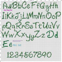 Cross Stitch Floss, Xmas Cross Stitch, Cross Stitch Needles, Simple Cross Stitch, Cross Stitch Charts, Cross Stitching, Cross Stitch Embroidery, Cross Stitch Numbers, Cross Stitch Letters