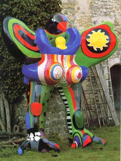 Niki de Saint Phalle's Mystical Garden of Myth.  In RV60. http://rawvision.com/articles/niki-de-saint-phalles-mystical-garden-myth