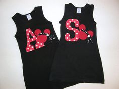 Personalized initial tank dress for baby toddler by LuvThatLook, $25.00