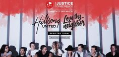 Hillsong UNITED coming to The Justice Conference in June 2017. #hillsongunited #thejusticeconference