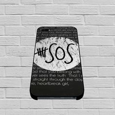 5SOS Quote case for iPhone, iPod, Samsung Galaxy, HTC One, Nexus  #phonecase#iphonecase#case#iphone6case#samsunggalaxycase#hardcase#cutecase#funnycase